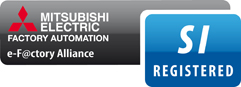 Mitsubishi Electric e-F@ctory Alliance – SI REGISTERED